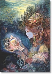 Birthday Card - May the coming year be magica. | Josephine Wall | 2001723-P | Leanin' Tree