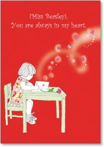 Valentine's Day Card - Always in My Heart | Jayne Oliver | 2001727-P | Leanin' Tree