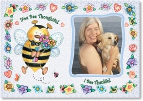 Thank You & Appreciation Card - You Bee the Best! | Debra Jordan Bryan | 2001749-P | Leanin' Tree