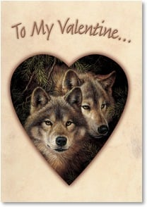 Valentine's Day Card - My Heart Always Remembers | Larry Fanning | 2001762-P | Leanin' Tree