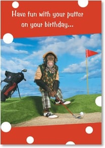 Birthday Card - If it lasts more than four hours... | Kimball Stock | 2001780-P | Leanin' Tree
