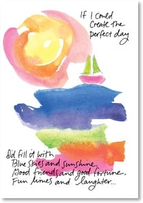 Birthday Card - Create the Perfect Day | Marianne Richmond | 2001784-P | Leanin' Tree
