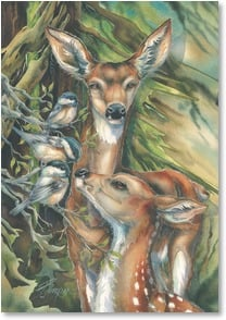 Birthday Card - Joys Large and Small | Jody Bergsma | 2001858-P | Leanin' Tree