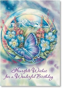 Birthday Card - May your dreams find wings | Jody Bergsma | 2001860-P | Leanin' Tree