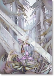 Sympathy Card - May the light of healing bring peace | Jody Bergsma | 2001861-P | Leanin' Tree