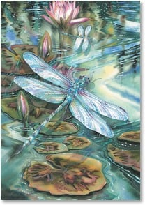 Birthday Card - May it Sparkle With Joy and Promise | Jody Bergsma | 2001863-P | Leanin' Tree