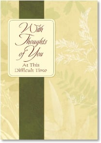 Encouragement & Support Card - You Are Being Remembered Right Now | LT Studio | 2001876-P | Leanin' Tree