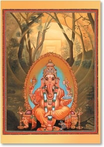 Anytime Wish for You Card - Ganesha Blesses You | Paul Heussenstamm | 2001892-P | Leanin' Tree