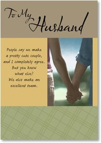 Birthday Card - Husband - Why I Love You | Fotosearch | 2001948-P | Leanin' Tree