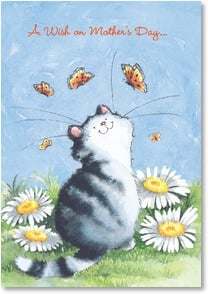 Mother's Day Card - For a purr-fect mom! | Margaret Sherry | 2002001-P | Leanin' Tree