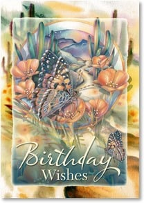 Birthday Card - Birthday wishes for a year filled with lots of love. | Jody Bergsma | 2002007-P | Leanin' Tree