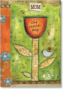 Mother's Day Card - ...One Special Mom | Lisa Kaus | 2002020-P | Leanin' Tree