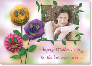 Mother's Day Card - To the best mom ever, who fills our family with love! | Connie Haley | 2002026-P | Leanin' Tree