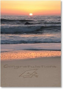 Graduation Card - Oceans of Opportunity Before You | Susan Y. Davis | 2002041-P | Leanin' Tree