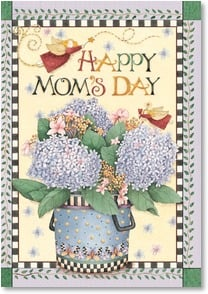 Mother's Day Card - Lots of love and joy to you. | Debbie Mumm | 2002045-P | Leanin' Tree