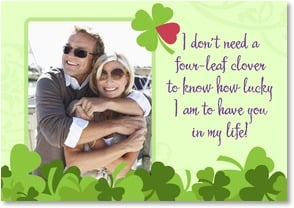 St. Patrick's Day Card - So Lucky to Have You...the One I Love | LT Studio | 2002055-P | Leanin' Tree