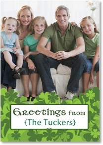 St. Patrick's Day Card - We're so lucky to know you! | LT Studio | 2002069-P | Leanin' Tree