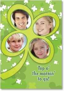 St. Patrick's Day Card - Top o' the Mornin' to Ya! | LT Studio | 2002070-P | Leanin' Tree