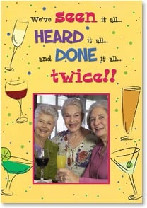 Birthday Card - If only we could REMEMBER it all! | Bee Sturgis | 2002071-P | Leanin' Tree
