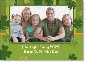 St. Patrick's Day Card - Happy St. Patrick's Day! | LT Studio | 2002074-P | Leanin' Tree