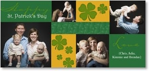 St. Patrick's Day Card - St. Patrick's Day with Love | LT Studio | 2002075-P | Leanin' Tree