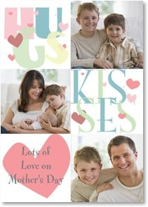 Mother's Day Card - These hugs & kisses go out to you! | LT Studio | 2002092-P | Leanin' Tree