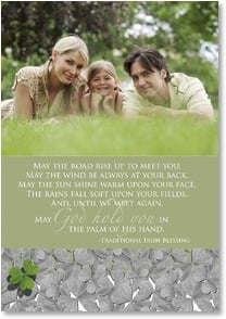 St. Patrick's Day Card - Blessed Saint Patrick's Day; Psalm 85:12 | LT Studio | 2002094-P | Leanin' Tree