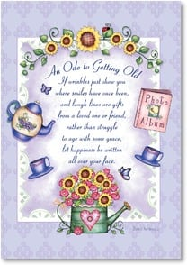 Birthday Card - May The Lord Send You Every Happiness | Barbara Ann Kenney | 2002128-P | Leanin' Tree