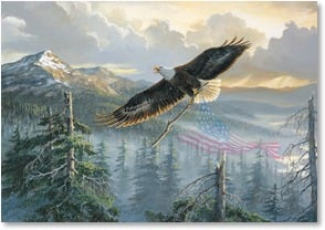Memorial Day Card - May their spirits fly forever! | Persis Clayton Weirs | 2002168-P | Leanin' Tree