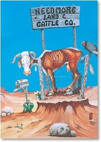 Get Well Card - You better get well quick! | Boots Reynolds | 2002210-P | Leanin' Tree