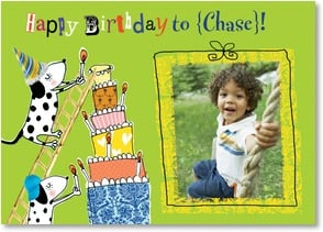 Birthday Card {Name} - A Birthday Wish With Extra Fun On Top! | Paper D'Art | 2002232-P | Leanin' Tree