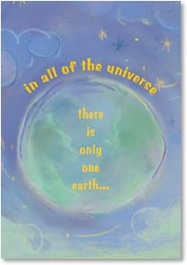 Earth Day Card - Let us celebrate this beautiful place. | Pepper Tharp | 2002270-P | Leanin' Tree