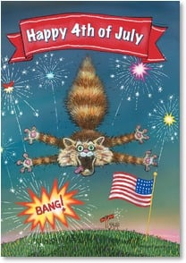 Independence Day Card - Hope Your Day's a Blast! | Gary Patterson | 2002273-P | Leanin' Tree