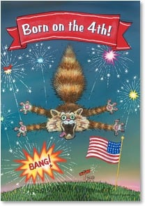 Birthday Card - What makes you such a blast!   | Gary Patterson | 2002274-P | Leanin' Tree