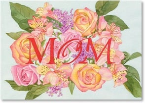 Mother's Day Card - Thanks for the beauty, love & joy. | Lynnea Washburn | 2002287-P | Leanin' Tree