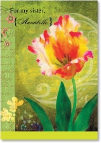 Easter Card - Springtime love and joy! | Gail Marie® | 2002306-P | Leanin' Tree