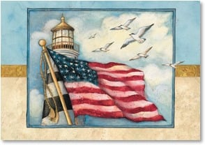 Veterans Day Card - Thanks for doing your part! | Susan Winget | 2002343-P | Leanin' Tree