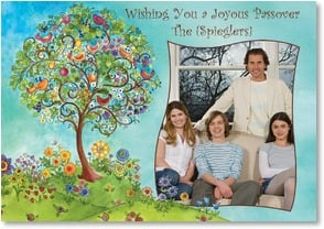 Passover Card - As you celebrate a beautiful holiday... | Sue Zipkin | 2002370-P | Leanin' Tree