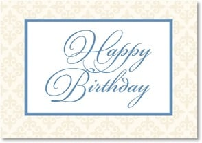 Birthday Card - Best wishes on your birthday and always | LT Studio | 2002386-P | Leanin' Tree