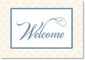 Welcome Card - Best Wishes for Your Success | LT Studio | 2002390-P | Leanin' Tree