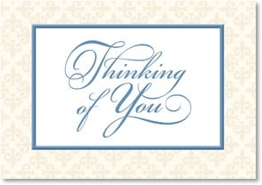 Thinking of You Card - Warm wishes for better days ahead | LT Studio | 2002393-P | Leanin' Tree