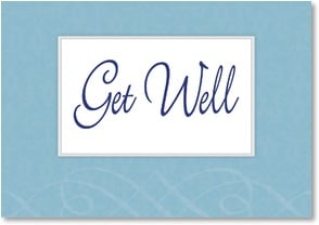 Get Well Card - Hope you're feeling better soon. | LT Studio | 2002405-P | Leanin' Tree
