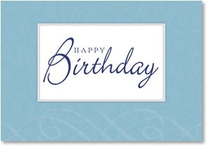 Birthday Card - Warm and sincere wishes | LT Studio | 2002410-P | Leanin' Tree