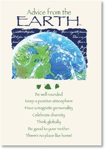 Earth Day Card - Have a Wonderful Earth Day!  | Your True Nature® | 2002417-P | Leanin' Tree