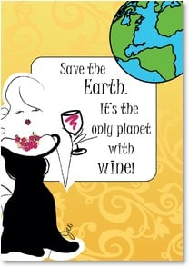 Earth Day Card - Save the Earth | Working Girls Design, Inc. | 2002421-P | Leanin' Tree