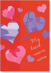 Valentine's Day Card - ...on Valentine's Day and always - 2002438-P | Leanin' Tree