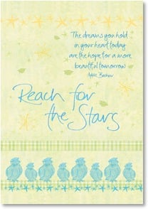 Graduation Card - Reach for the Stars | Intrinsic by Design&amp;reg; | 2002493-P | Leanin' Tree