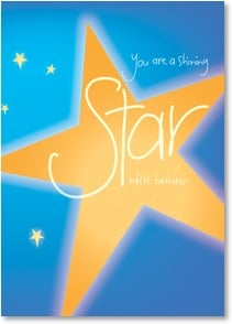 Graduation Card - You are a shining star, and things look brighter than ever! | Intrinsic by Design® | 2002506-P | Leanin' Tree