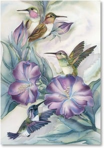 Mother's Day Card - Hopes and dreams take wing! | Jody Bergsma | 2002513-P | Leanin' Tree