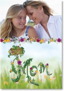 Mother's Day Card - The Greenest Thumb; Philemon 7 | Connie Haley | 2002527-P | Leanin' Tree